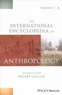 The International Encyclopedia of Anthropology cover